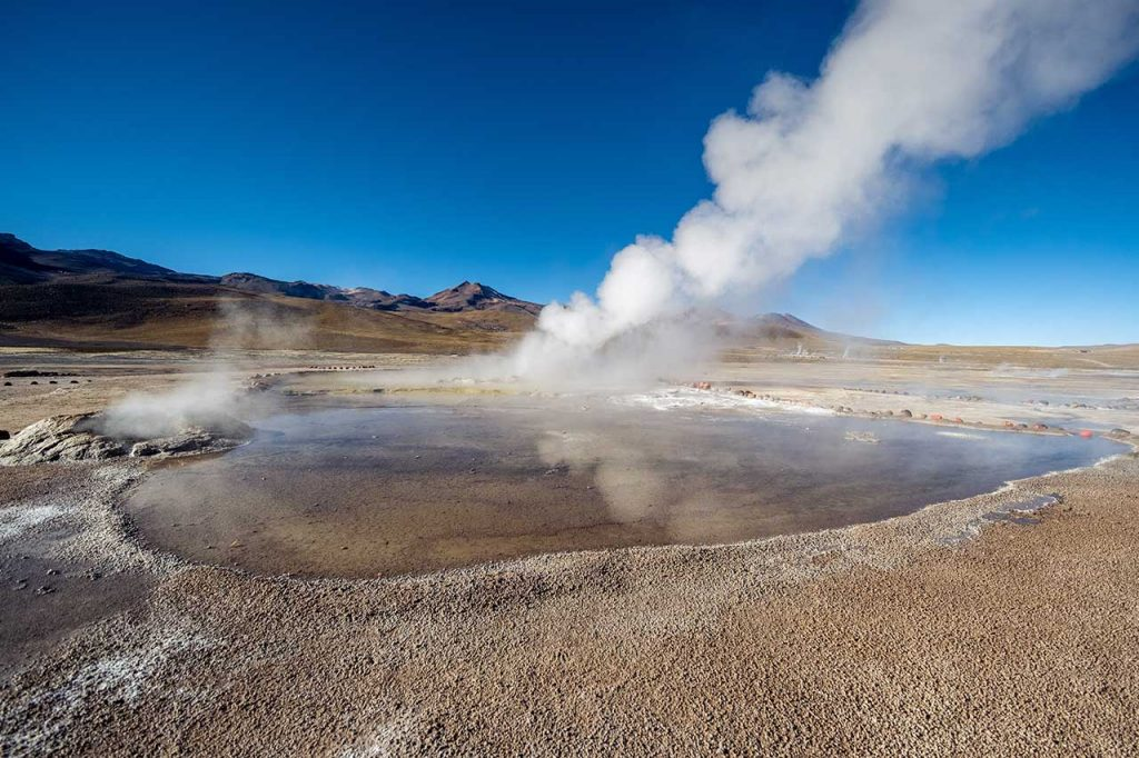 Chile cycling vacations_el ratio geyser