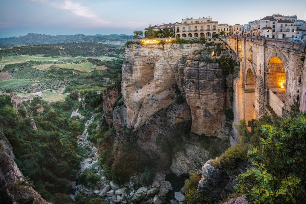 Tajo Gorge and Ronda Puente Nuevo Bridge