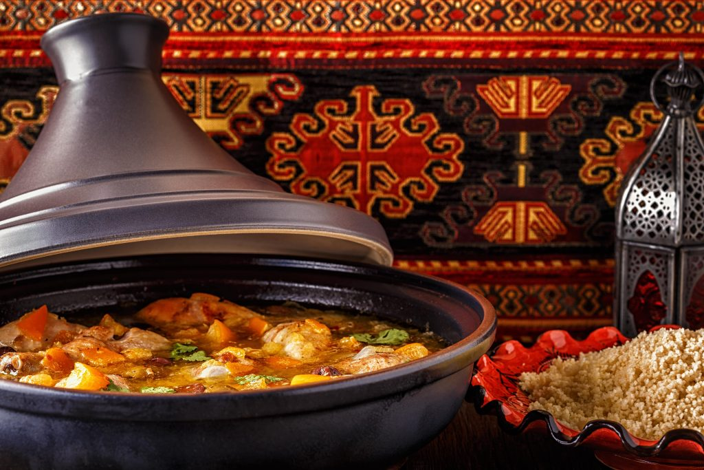 Moroccan food Tagine